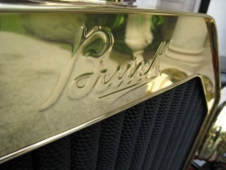 Buick script is reproduced from the original die