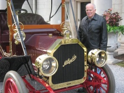 Boyd Wood, who researched the car's restoration