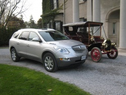 A century apart: 2008 Enclave and 1908 Model F
