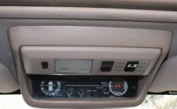 Altimeter and sunroof controls