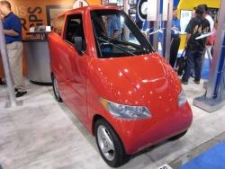 Tango two-seater electric car