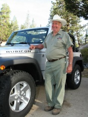 2007 Jeep Wrangler, Mark Smith, founder of the Rubicon Trail
