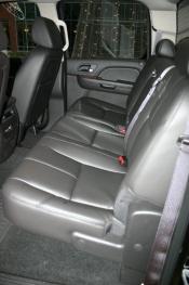Rear seat in Luxury trim