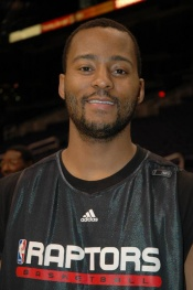 Morris Peterson (Mo Pete) of the Toronto Raptors