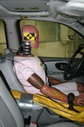 Our unsuspecting driver, the iDummy, which collects its own data