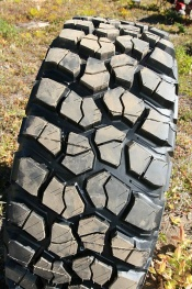 BF Goodrich's new Mud-Terrain T/A KM2 tire's cut and chip resistance will be valuable when crawling along rocky trails