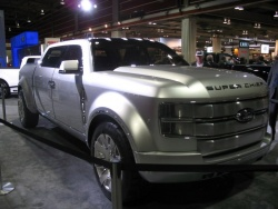 Ford's F-250 Super Chief concept: the photo says it all.