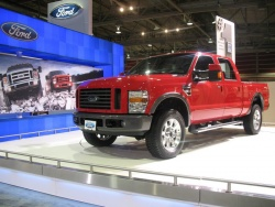 It would not be the Calgary Auto Show without a good truck on hand. Ford's new Super Duty should be a hit when it goes on sale.