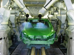 New Mazda2 at U2 plant paint shop