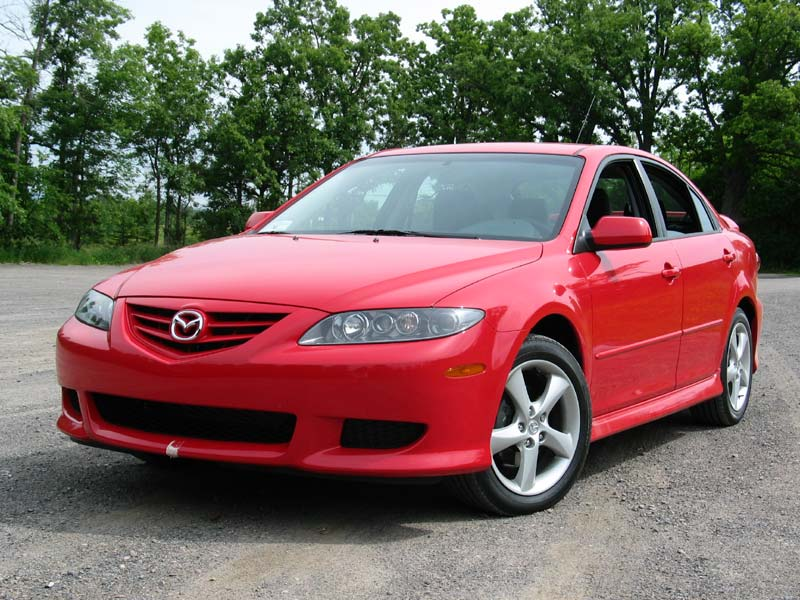 Mazda 6 2003 Red. Used Vehicle Review: Mazda6,
