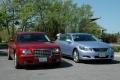 Chrysler 300C and Lexus GS 450h