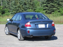Test Drive: 2008 Subaru Legacy 2.5GT sedan  car test drives subaru