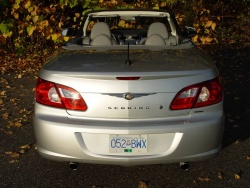 Test Drive: 2008 Chrysler Sebring Limited convertible hardtop car test drives chrysler