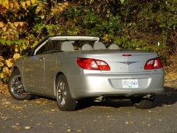 Test Drive: 2008 Chrysler Sebring Limited convertible hardtop chrysler car test drives
