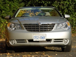 2008 Chrysler Sebring Limited convertible hardtop