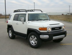 Test Drive: 2008 Toyota FJ Cruiser car test drives