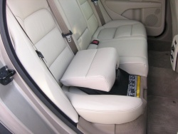 Volvo integrated booster seat in a 2008 XC70 in upper position