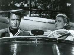 Cary Grant and Grace Kelly, in It Takes a Thief