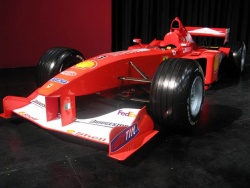 Perhaps one of the most interesting and main highlights of this year's show is Michael Schumacher's 1999 Ferrari F1 car, which is in display in the Ferrari Gallery, located near the Stampede Corral