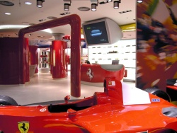 Ferrari will open its first British retail store this fall