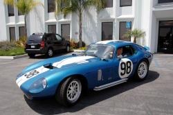 Shelby Distribution USA presents automotive legend Carroll Shelby with a custom Superformance Shelby Cobra Daytona Coupe