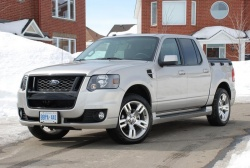 Test Drive: 2008 Ford Sport Trac Adrenalin trucks car test drives ford