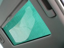 The A3 offers a dual-pane sunroof with fixed rear glass