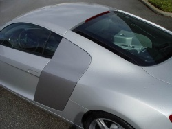 2008 Audi R8 with R tronic automatic transmission