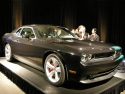 2008 Dodge Challenger SRT8 on the production line