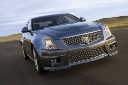 The new 2009 Cadillac CTS-V has completed a lap of the Nordschleife at Nurburgring in 7:59.32, which appears to be the fastest ever publicly-documented time for a production sedan.
