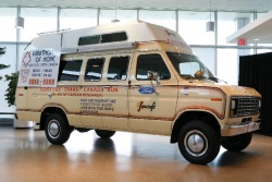 The Terry Fox Foundation has unveiled the original van used by Fox during his Marathon of Hope in 1980, following extensive restoration by Ford of Canada. The van will be the focus of a Canadian tour that begins this Sunday.