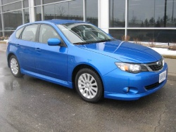 Test Drive: 2008 Subaru Impreza Hatchback 2.5i Sport first drives