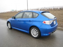 Test Drive: 2008 Subaru Impreza Hatchback 2.5i Sport subaru first drives