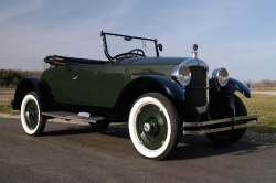 Ontario-based RM Auctions will include some of the automotive industry\'s earliest pioneers - like this 1924 Hupmobile Roadster -  at its annual Vintage Motor Cars of Meadow Brook event in Rochester, Michigan on August 2, 2008.