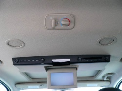 Overhead DVD system