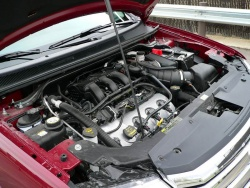 The 3.5-litre engine allows for easy servicing