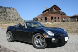 2008 Pontiac Solstice GXP; Osoyoos, BC