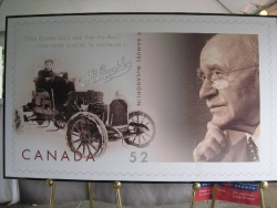 The McLaughlin stamp will be issued by Canada Post in September