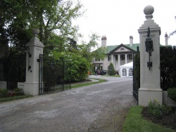 The front gates of Parkwood