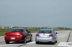 Chrysler 300C and Lexus GS 450 h