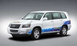 Toyota new Advanced Fuel Cell Hybrid Vehicle