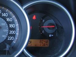 Nissan Versa fuel gauge