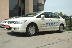 Honda Siel Cars India (HSCI) has announced it has launched India's first hybrid car, the Civic Hybrid.