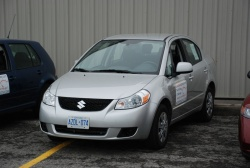 2008 Suzuki SX4; photo by Grant Yoxon