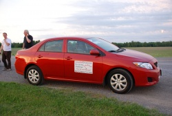2009 Toyota Corolla; photo by Grant Yoxon
