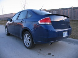 2008 Ford Focus SES; photo by Haney Louka