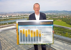 Dr. Karl-Thomas Neumann, Chief Technology Officer of Continental AG: A new international study by automotive supplier Continental has found that consumer acceptance of hybrid vehicles is increasing internationally, especially when government incentives are offered.