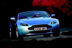 Test Drive: 2008 Aston Martin V8 Vantage Roadster car test drives luxury cars aston martin