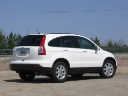 Test Drive: 2008 Honda CR V EX L with navigation honda