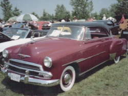 1951 Chevrolet Bel Air hardtop convertible